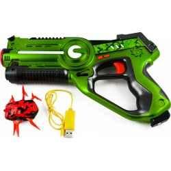 NAUJIENA! Lazerinis pistoletas su taikiniu-vabalu